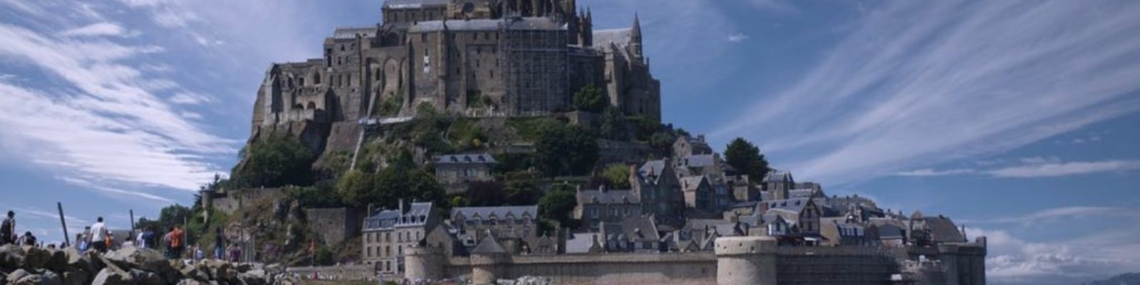 mont saint michel france normandy europe 1
